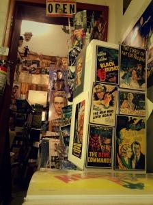 cinema books shelves