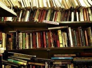 cinema books stacks