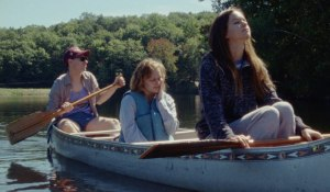 Friends in canoe