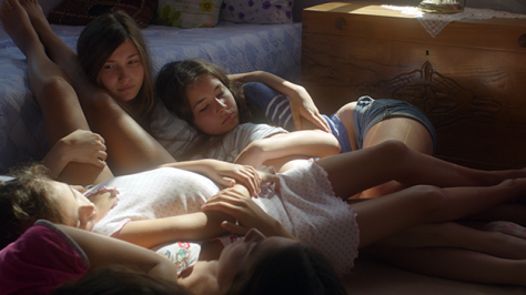 Mustang girls in bedroom tangled