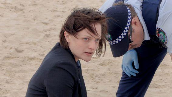 Robin on beach