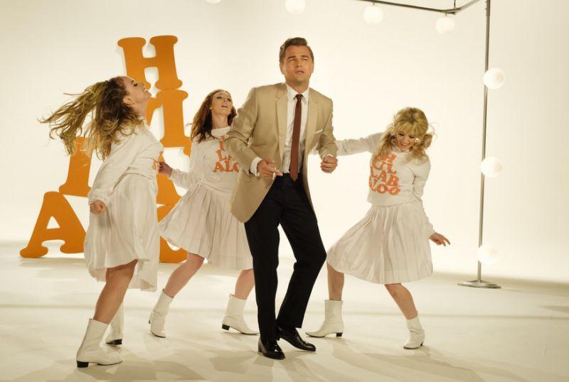 Rick Dalton dancing